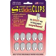 StikkiWorks® Stikki Clip, 20/Pack