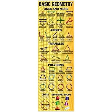 McDonald Publishing® Colossal Poster, Basic Geometry