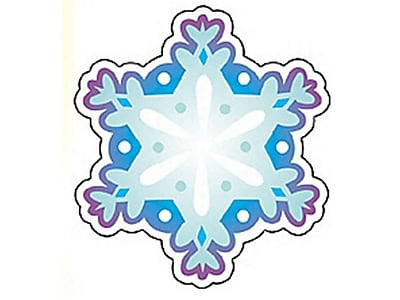 Trend® Mini Accents, Snowflake