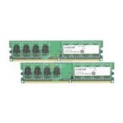 Crucial 2GB (2 x 1GB) DDR2 (240-Pin SDRAM) DDR2 667 (PC2 5300) Universal Desktop Memory