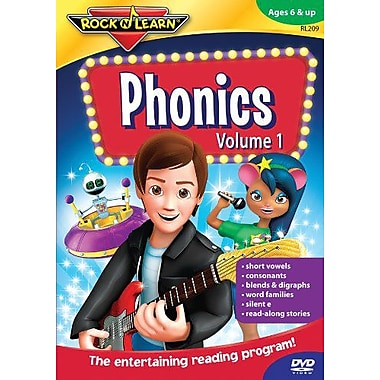 Rock 'N Learn Phonics Dvd, Volume 2 (RL-210)