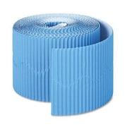 Pacon® Bordette® pre-school - 12th Grades Scalloped Decorative Border, Rich Blue