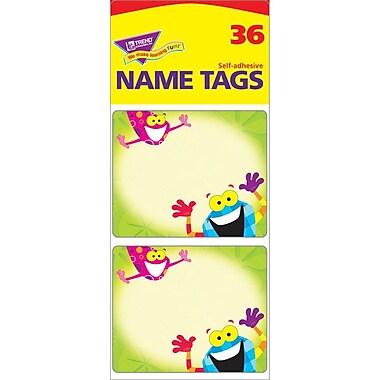Trend Enterprises® pre-kindergarten - 9th Grades Name Tag, Frog Tastic