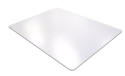 Desktex® Anti-Slip Polycarbonate Desk Mat, Clear, 17