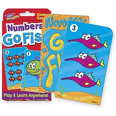 Trend Enterprises® Challenge® Numbers Go Fish Cards, Grades pre-kindergarten - 4th