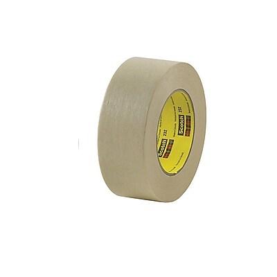 "3M™ #232 Scotch® High Performance Masking Tape, 1"" x 60 yds., 36/Case"