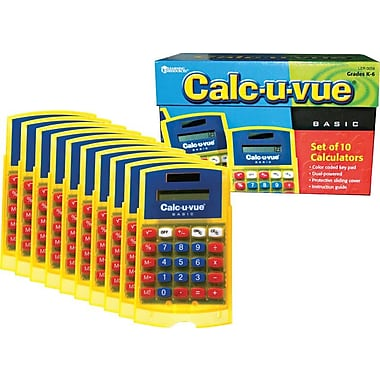 Learning Resources® Basic Student Calculator Classpack, 10/Pack