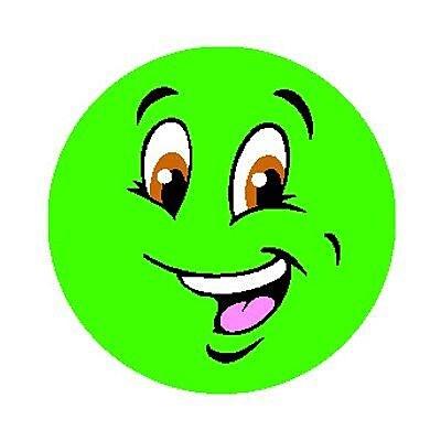 Trend® Stinky Stickers®, Small Round, Colorful Smiles Scented Tutti-Frutti