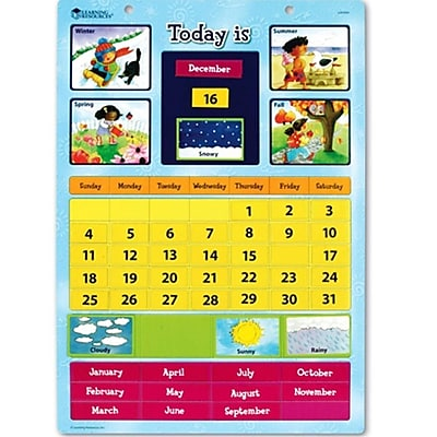 Learning Resources® Magnetic Learning Calendar