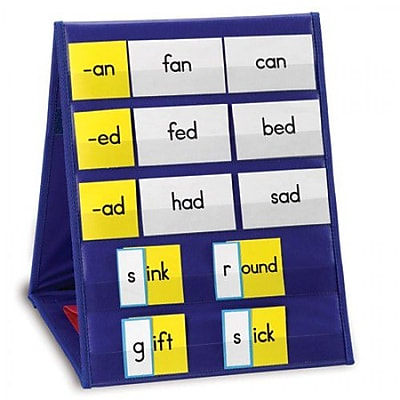Learning Resources® Double-Sided Tabletop Pocket Chart