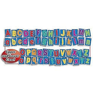 Teacher's Friend® Bulletin Board Set, Big Alphabet Letters, 52/PK, 2 PK/BD
