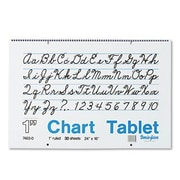 "Pacon® Chart Tablet, 1"" Rule, 16""(H) x 24""(W)"