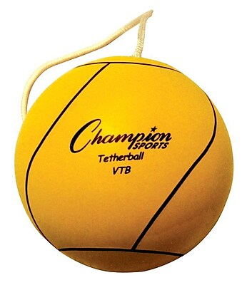 Champion Sports® Tether Ball, Optic Yellow, 2 EA/BD