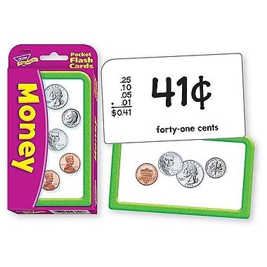 Trend Enterprises® Pocket Flash Cards, Money