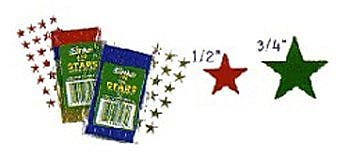 Eureka® Stars Stickers, 1/2