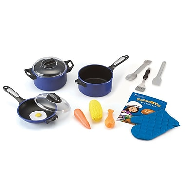 Learning Resources® Pretend & Play Pro Chef Set