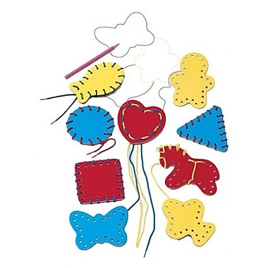 Lauri® Toys Lacing Shapes, 9/Pack (LR-2561)