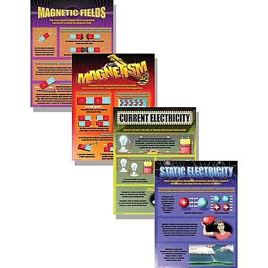 McDonald Publishing Poster Set, Electricity and Magnetism, 9/Set (MC-P111)