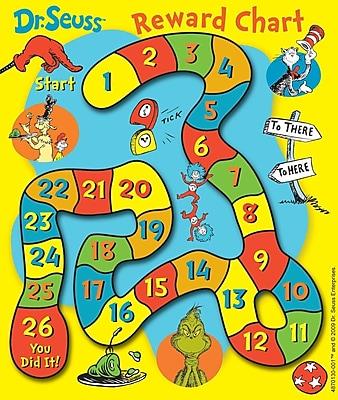 Eureka Mini Rewards Charts, Dr. Seuss Game