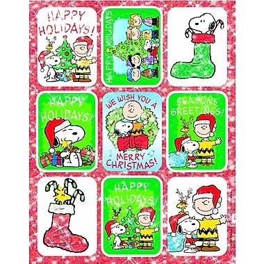 Peanuts Christmas Stickers Flatpack