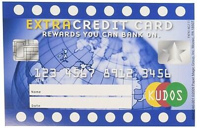 Extra Credit Card Reward Punch Cards