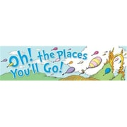 Eureka® Dr. Seuss™ Colorful Classroom Banner, Oh! The Places You'll Go, Toddler - 6th Grade (EU-849581)
