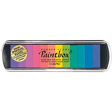 Clearsnap ColorBox Pigment Paintbox 2 Option Pad, Pastel