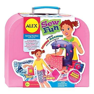 Alex Toys Sew Fun Sewing Machine Kit-