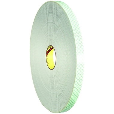 3M 4008 Double Sided Foam Tape, 1