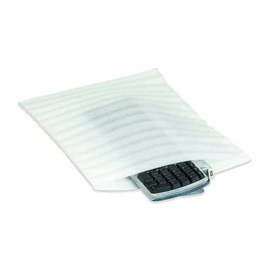 Partners Brand Flush Cut Foam Pouch, 10