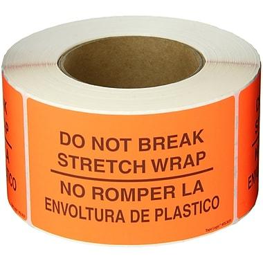 Tape Logic® Bilingual Labels,