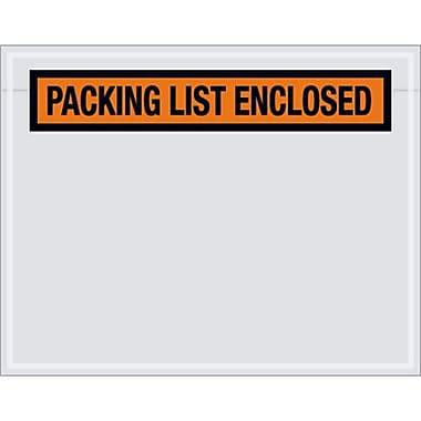 7X5.5 Packing List Envelope