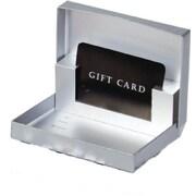 """Shamrock Board 0.63""""H x 3.38""""W x 4.63""""L Gift Boxes, Silver, 50/Case"""