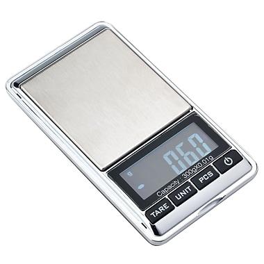 Insten - Balance numérique de poche de 10,5 oz, noir/argenté (COTHDIGSCLE2)