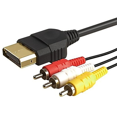 Insten® 6' AV Cable For Xbox, Black