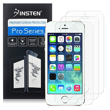 Insten® Anti Glare Screen Protector For Apple iPhone 5/5S/5C, Clear, 2/Pack (CAPPIPH5SP06)