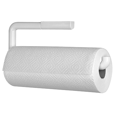Wall Mount Paper Towel Holder interdesign® wallmount paper towel holder, white | staples®