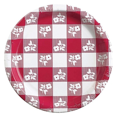 Creative Converting Red Gingham 7