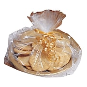 """Creative Converting Small Cello Basket Bags, 5.75""""x11"""", Clear, 6/Pack"""
