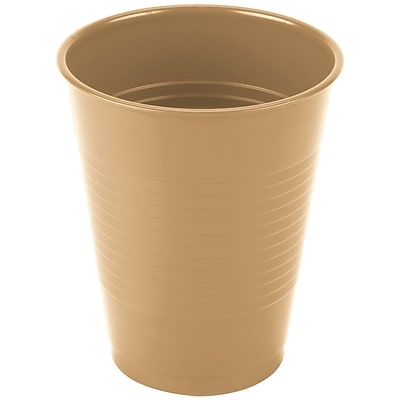 Creative Converting Glittering Gold Cups, 20/Pack