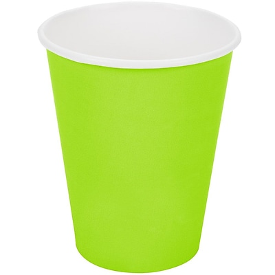 Creative Converting Fresh Lime Hot/Cold Drink Cups, 24/Pack
