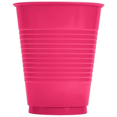 Creative Converting Hot Magenta Cups, 20/Pack