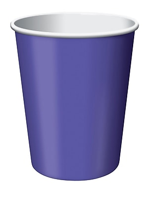 Creative Converting Purple Hot/Cold Drink Cups, 24/Pack 1006041