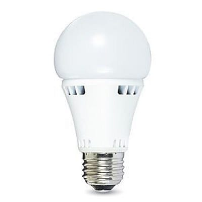 Verbatim Contour Series 11 Watt A19 LED Light Bulb, Soft White, Dimmable