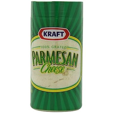 Kraft Grated Parmesan Cheese 3 Oz, 12/Pack