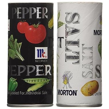 Morton Iodized Salt & Pepper, 12/Pack