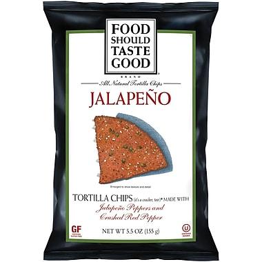 Food Should Taste Good Jalapeno Tortilla Chips 24/Pack 1.5 Oz.