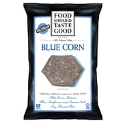 Food Should Taste Good Blue Corn 5.5 Oz. Tortilla Chips, 8/Pack