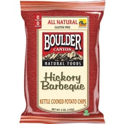 Boulder Canyon Chips Hickory BBQ Potato Chips 12/Pack 5 Oz.