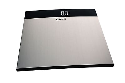 Escali Bathroom Scale, Stainless Steel, 440 Lb 200 Kg